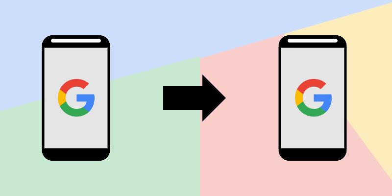 Dane na nowego smartfona Android
