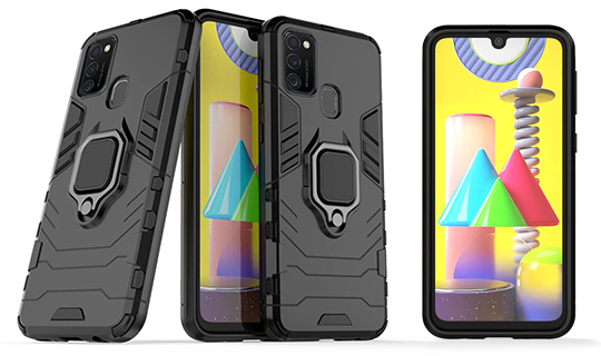 etui alogy ring stand armor case do samsung galaxy m21