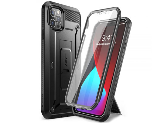 Pancerne etui Supcase Unicorn Beetle Pro do Apple iPhone 12 Pro Max 6.7 Black