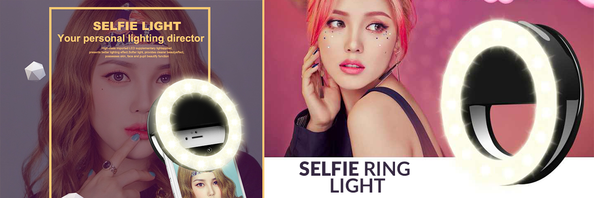 selfie ring light  lampa do selfie
