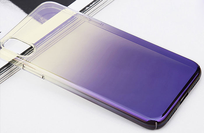 etui Apple iPhone X ombre rozne kolory