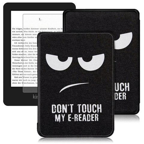 Etui Alogy Smart Case Kindle Paperwhite 4 Don't touch my e-reader + Szkło