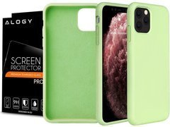 Etui na telefon Alogy Thin Soft do Apple iPhone 11 Pro Max zielone