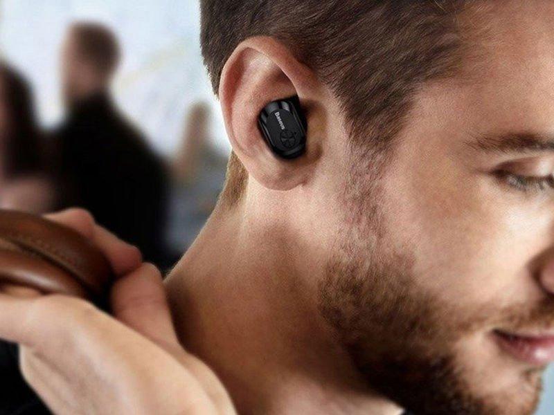 Wodoodporne słuchawki Baseus