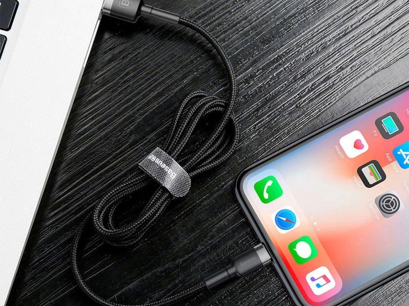 Baseus Kabel Kevlar USB Lightning iPhone 2.4A 1m