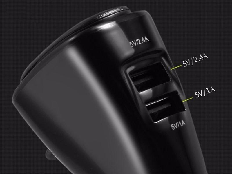 Benks ładowarka samochodowa 2x USB