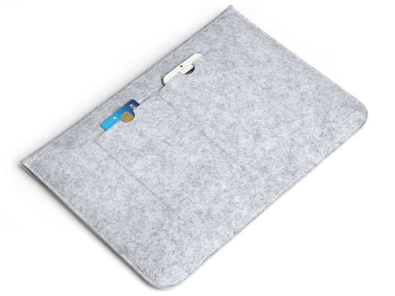 Etui Filcowe Teczka do Macbook Air Pro 13 Szare