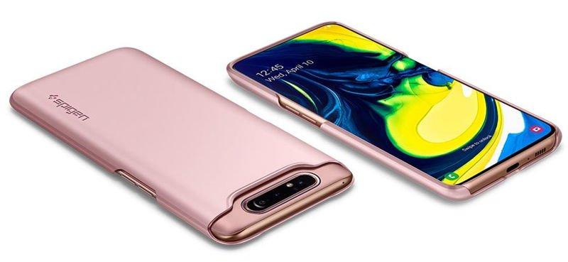 Pokrowiec Spigen na telefon Samsung Galaxy A80