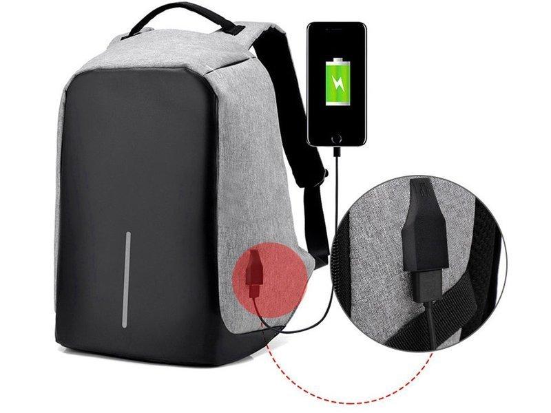Plecak na laptopa Alogy z portem USB