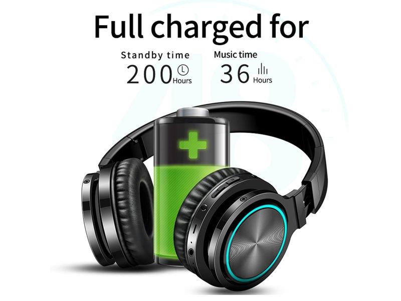 Wytrzymałość baterii w słuchawkach