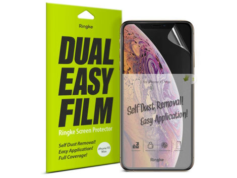 2x Folia ochronna Ringke Dual easy film Apple iPhone X /XS