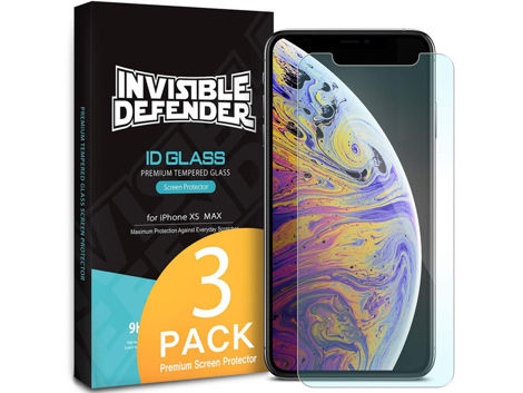 3x Szkło Ringke Invisible Defender Apple iPhone Xs Max