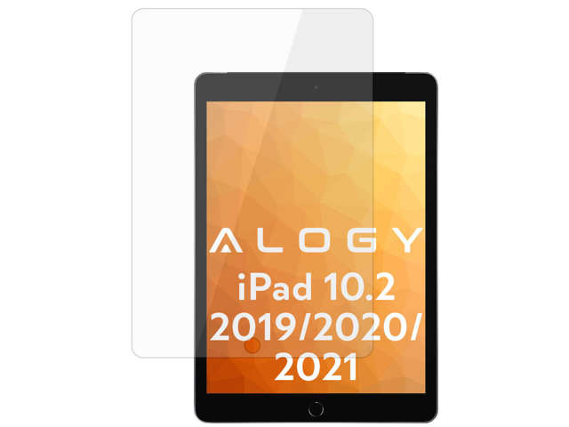 Alogy Szkło hartowane na tablet do Apple iPad 10.2 2019 (7Gen)