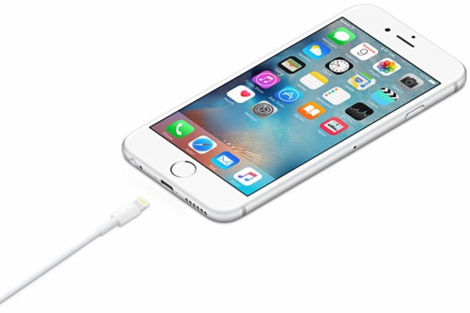 Biały Kabel Lightning 2m iPhone 5 SE 6 6 7 8 Plus X XS XR Bulk - zamiennik