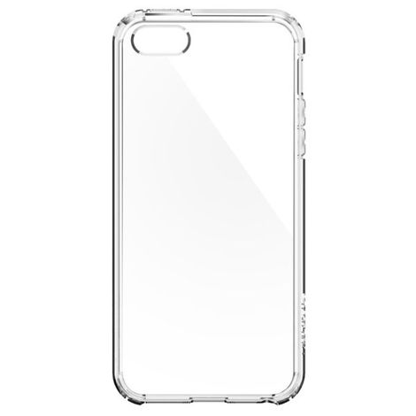 ETUI SPIGEN ULTRA HYBRID DO IPHONE 5 5S SE CRYSTAL CLEAR + SZKŁO
