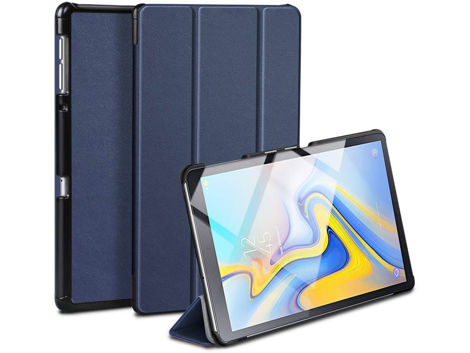 Etui Alogy Book Cover do Galaxy Tab A 10.5 T590/T595 Granatowe