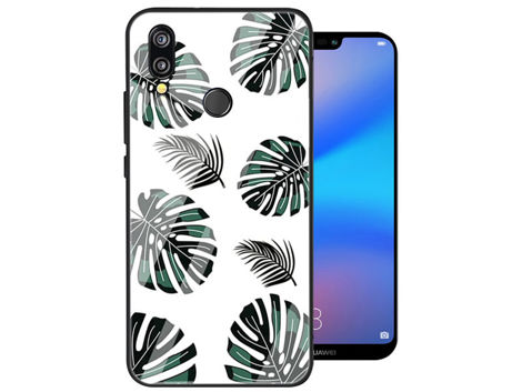 Etui Alogy Glass Armor Case do Huawei P20 Lite Liście