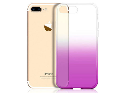 Etui Alogy Slim Ombre Apple iPhone 7/8 Plus Fioletowe