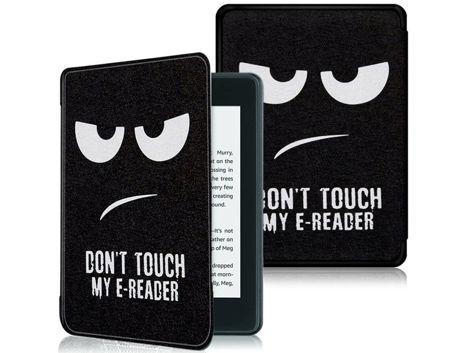 Etui Alogy Smart Case do Kindle Paperwhite 4 Don't touch my e-reader