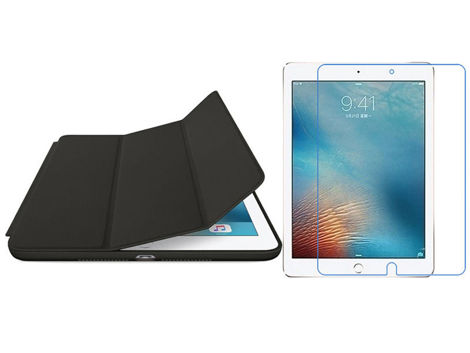 Etui Alogy Smart Case do Apple iPad Air 3 2019/ Pro 10.5  Czarne + Folia + rysik