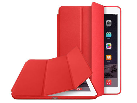 Etui Alogy Smart Case do Apple iPad Air 3 2019/ Pro 10.5 Czerwone + Szkło