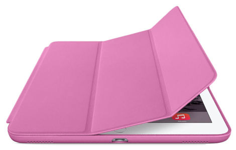 Etui Alogy Smart Case do Apple iPad Air 3 2019/ Pro 10.5  Różowe + FOLIA + RYSIK