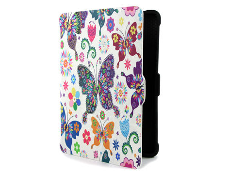 Etui Alogy Smart Case do Kindle Paperwhite 1/2/3 Motyle łowickie