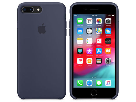 Etui Apple silicone case iPhone 7 Plus / 8 Plus MQH02ZM/A Blue Cobalt