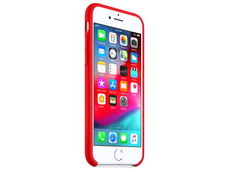 Etui Apple silicone case iPhone 8/7 MQGP2ZM/A Red