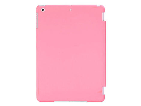 Etui Back Cover do Apple iPad Air różowe matowe