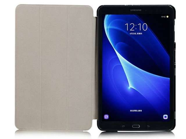 Etui Book Cover do Samsung Galaxy Tab A 10.1 T580 T585 Fioletowe