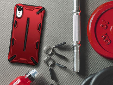 Etui Ringke Dual X Apple iPhone Xr Iron Red