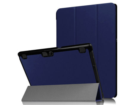 Etui Smart Cover do Lenovo Tab 10 X103 Tab2 A10-30/70 Tab3 10 Plus X70L Granatowe