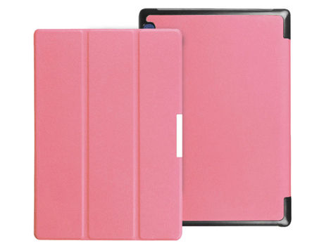 Etui Smart Cover do Lenovo Tab2 A10-70/ Tab3 10 Plus X70 Różowe