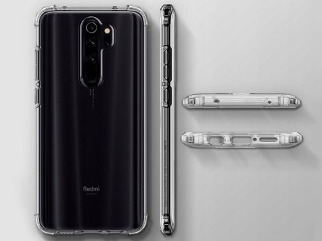 Etui Spigen Crystal Shell do Xiaomi Redmi Note 8 Pro Crystal Clear