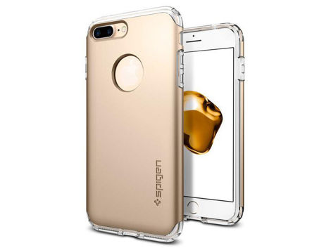 Etui Spigen Hybrid Armor Apple iPhone 7/8 Plus Champagne Gold + Szkło