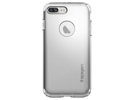 Etui Spigen Hybrid Armor Apple iPhone 7/8 Plus Satin Silver + Szkło