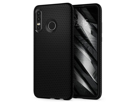 Etui Spigen Liquid Air do Huawei P30 Lite Matte Black