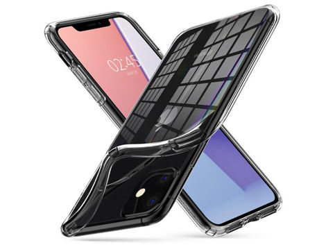 Etui Spigen Liquid Crystal do Apple iPhone 11 Crystal Clear