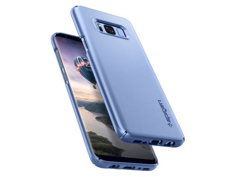 Etui Spigen SGP Thin Fit Samsung Galaxy S8+ Plus - Blue Coral