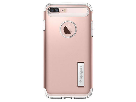 Etui Spigen Slim Armor Apple iPhone 7/8 Plus Rose Gold + Szkło