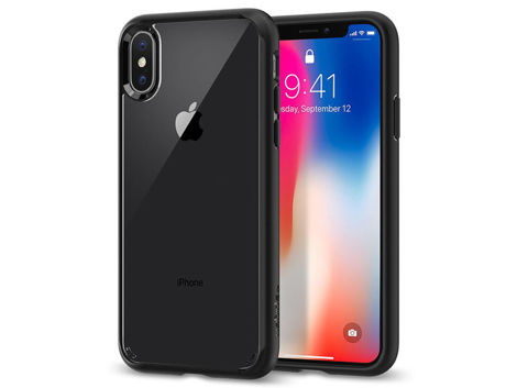 Etui Spigen Ultra hybrid Apple iPhone X / Xs Matte Black