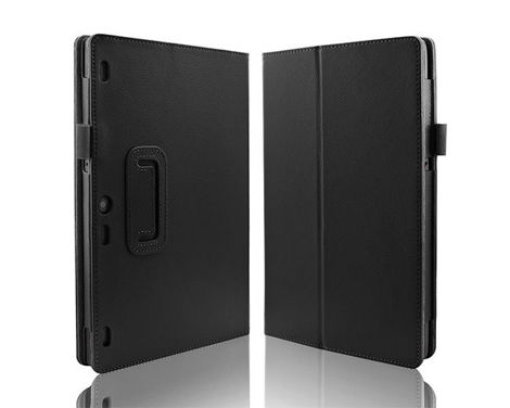 Etui Stand Cover do Lenovo Tab2 A10-70/ Tab3 10 Plus X70 Czarne