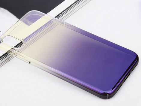 Etui alogy aurora ombre Apple iPhone X Xs hard case + Szkło