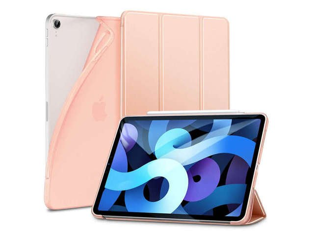 Etui na tablet obudowa ESR Rebound Slim do iPad Air 4 2020 Rose Gold