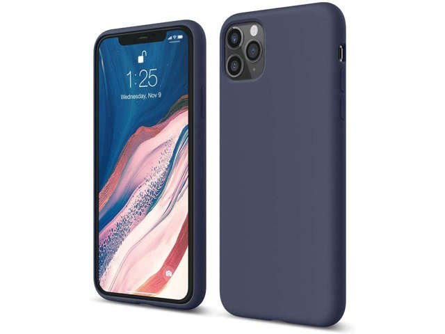 Etui na telefon Alogy Thin Soft do Apple iPhone 11 granatowe