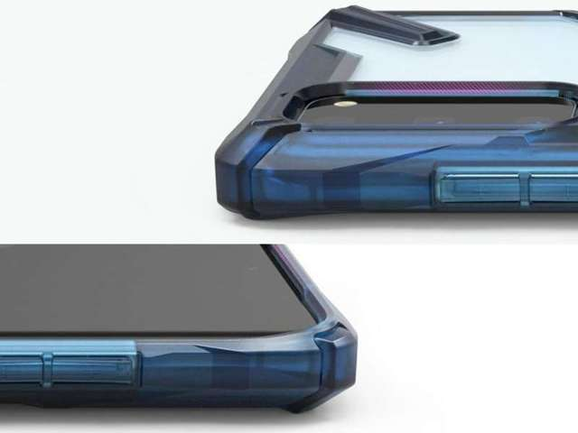 Etui na telefon Ringke Fusion X do Samsung Galaxy S20 Space Blue