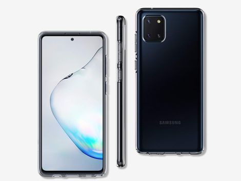 Etui na telefon Spigen Liquid Crystal do Samsung Galaxy Note 10 Lite Clear
