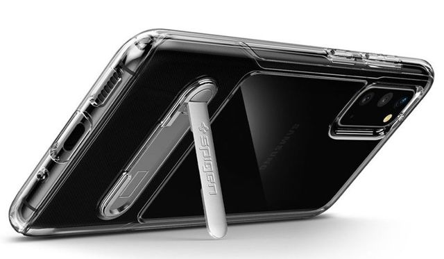 Etui na telefon Spigen Slim Armor Essential S do Galaxy S20 Crystal Clear