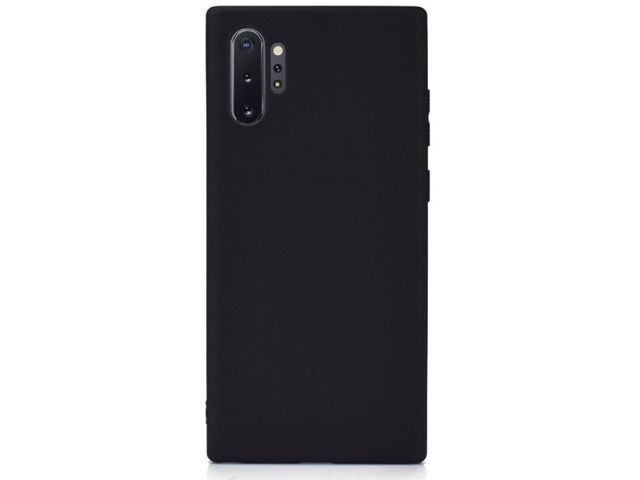 Etui na telefon silikonowe Alogy do Samsung Galaxy Note 10 Plus czarne